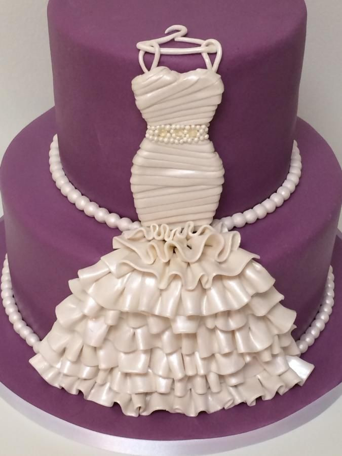 Wedding Shower Cakes Images  Bridal gown cake For all your cake decorating supplies