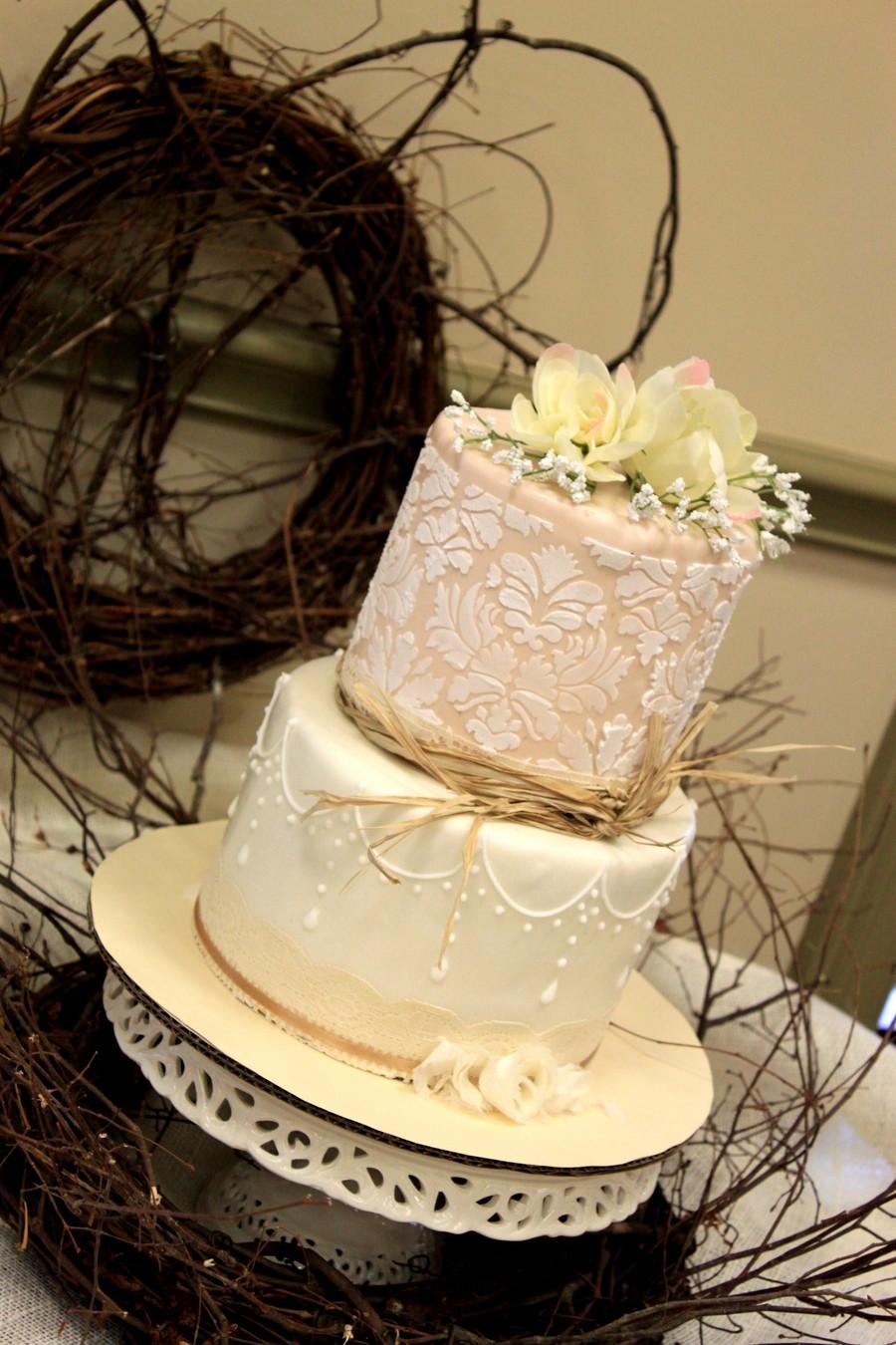 Wedding Shower Cakes Images  Vintage Bridal Shower Cake CakeCentral
