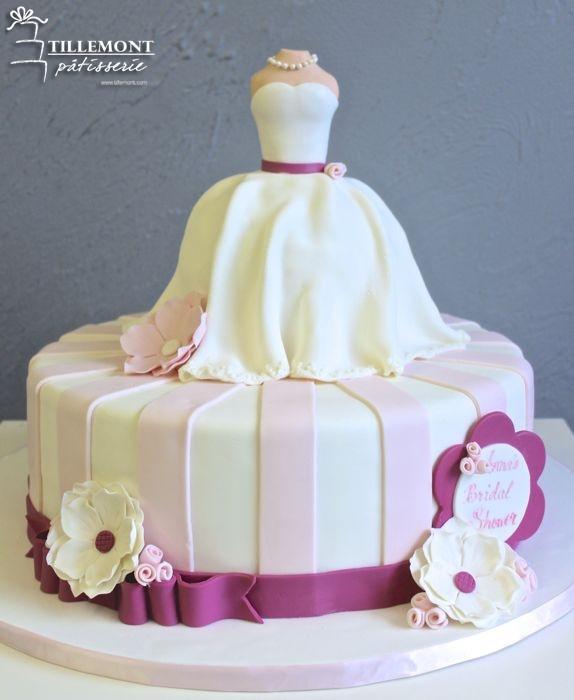 Wedding Shower Cakes Images  Bridal Shower Cakes Patisserie Tillemont