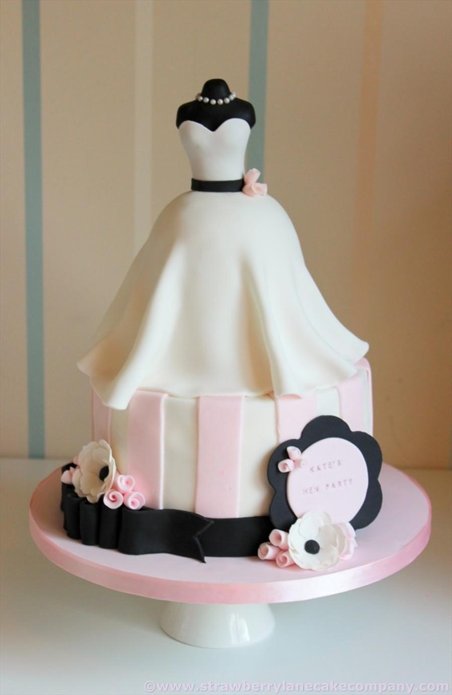 Wedding Shower Cakes Images  Wedding Dress Bridal Shower Cake CakeCentral