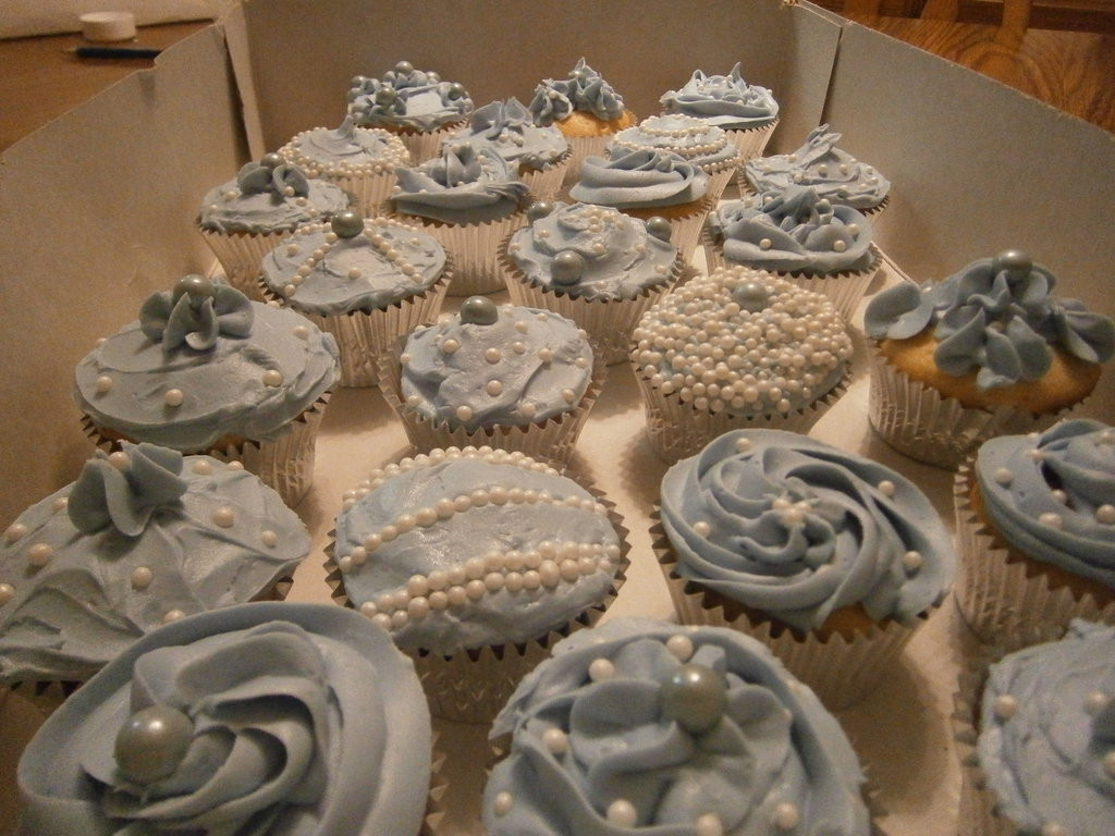 Wedding Shower Cup Cakes  Bridal Shower Cupcakes by Merwenna on DeviantArt