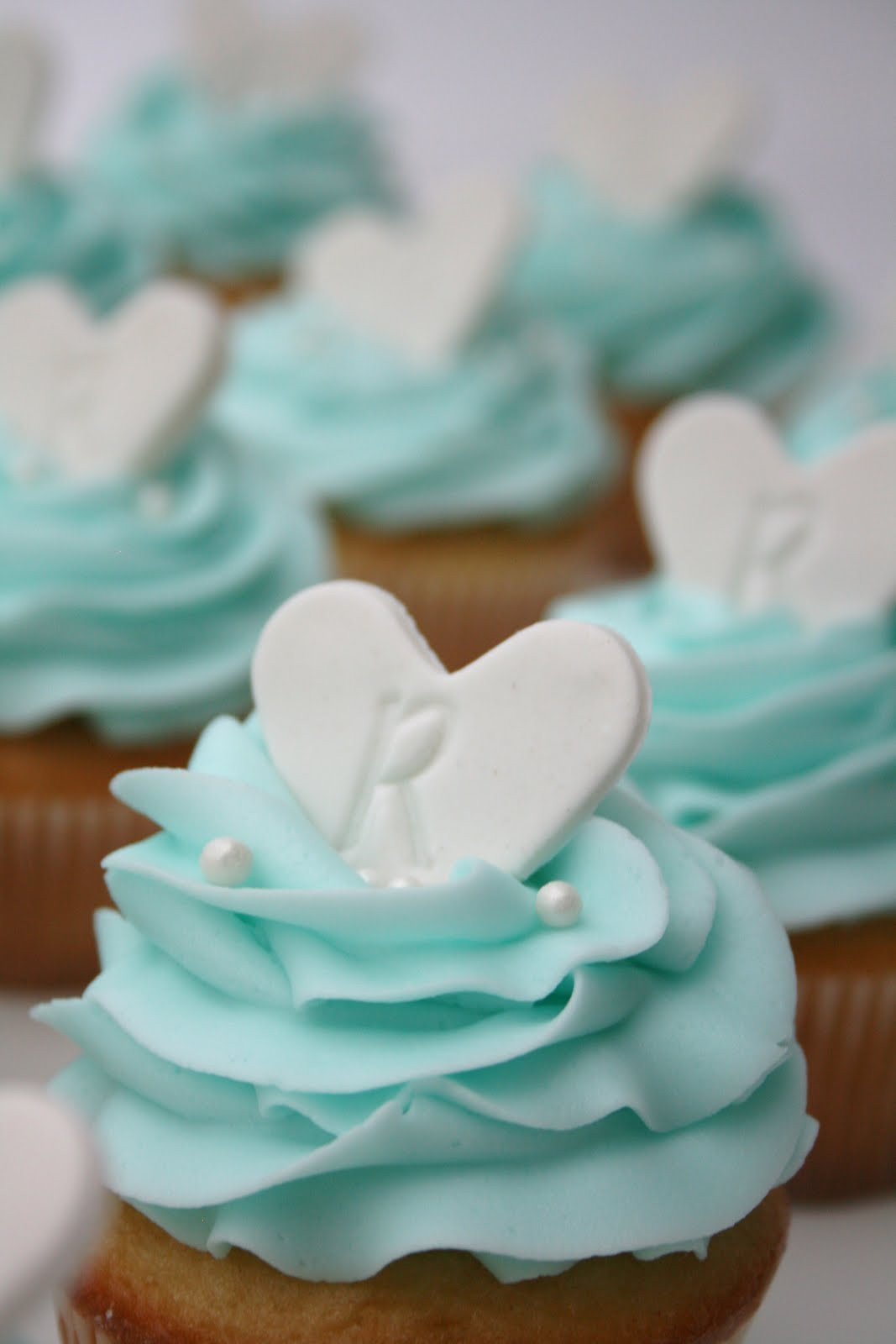 Wedding Shower Cup Cakes  And Everything Sweet Bridal Shower Cupcakes