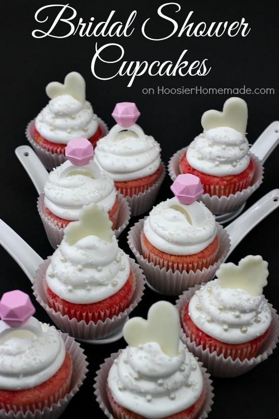 Wedding Shower Cupcakes  Bridal Shower Cupcakes Hoosier Homemade