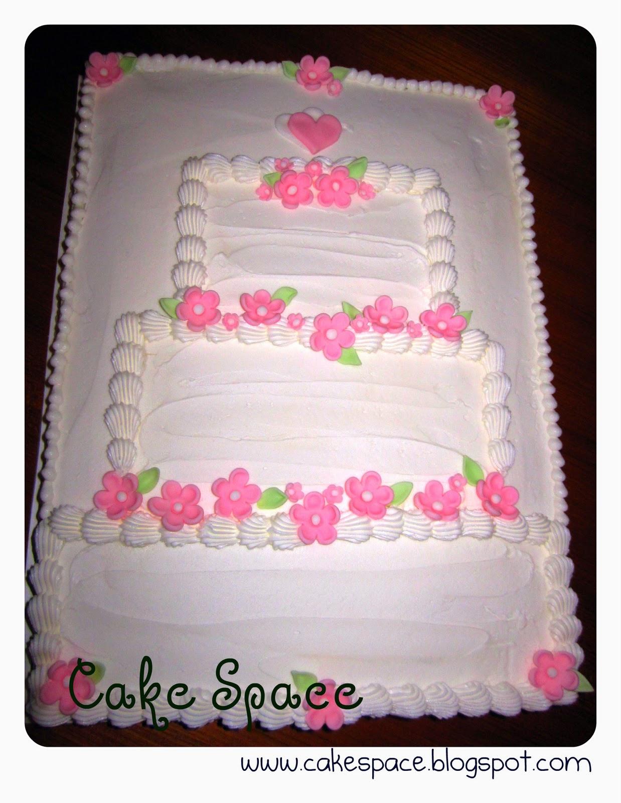 Wedding Shower Sheet Cake  Birthday Cakes June 2010