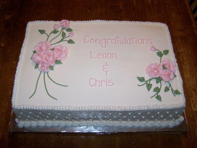 Wedding Shower Sheet Cake  Bridal Shower Sheet Cake Ideas and Designs