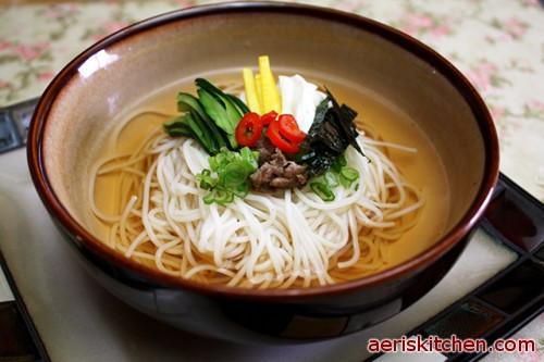 Wedding Soup Noodles  Banquet GukSu – Aeri's Kitchen