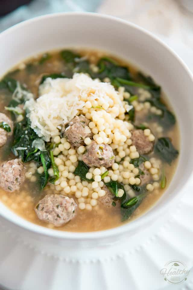 Wedding Soup Noodles  Italian Wedding Soup • The Healthy Foo