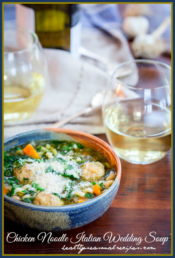 Wedding Soup With Chicken  chicken noodle italian wedding soup Healthy Seasonal Recipes