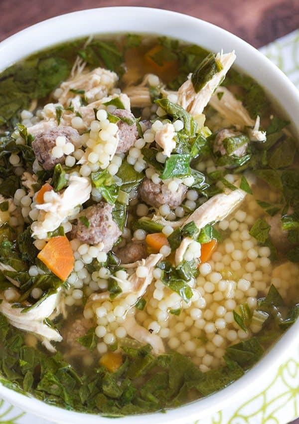 Wedding Soup With Chicken  Italian Wedding Soup Recipe