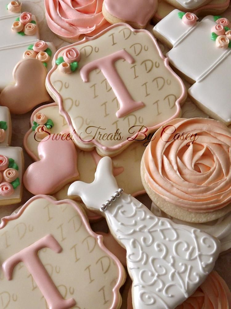 Wedding Sugar Cookies Decorating Ideas  Wedding Cookies Cookie Connection
