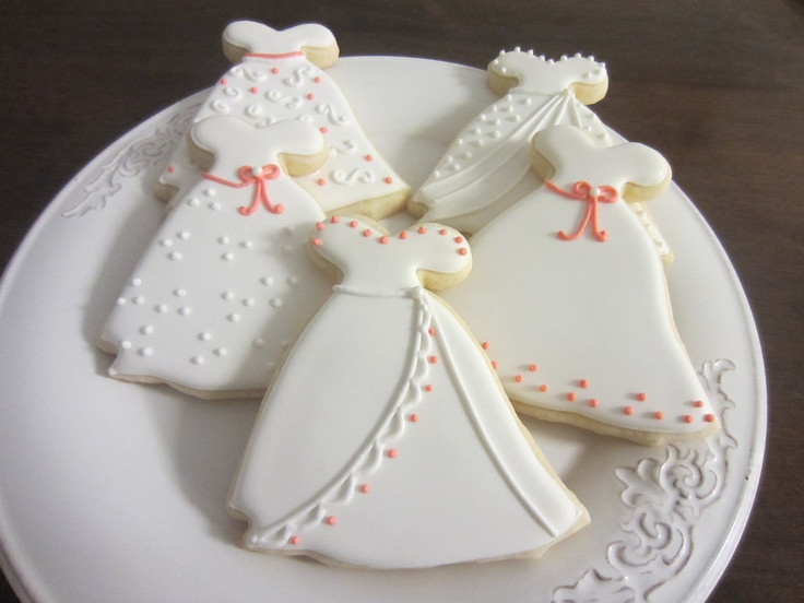 Wedding Sugar Cookies Decorating Ideas  23 best Wedding cookies images on Pinterest