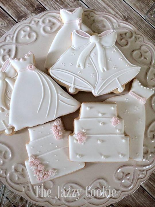 Wedding Sugar Cookies Decorating Ideas  25 Best Ideas about Decorated Wedding Cookies on