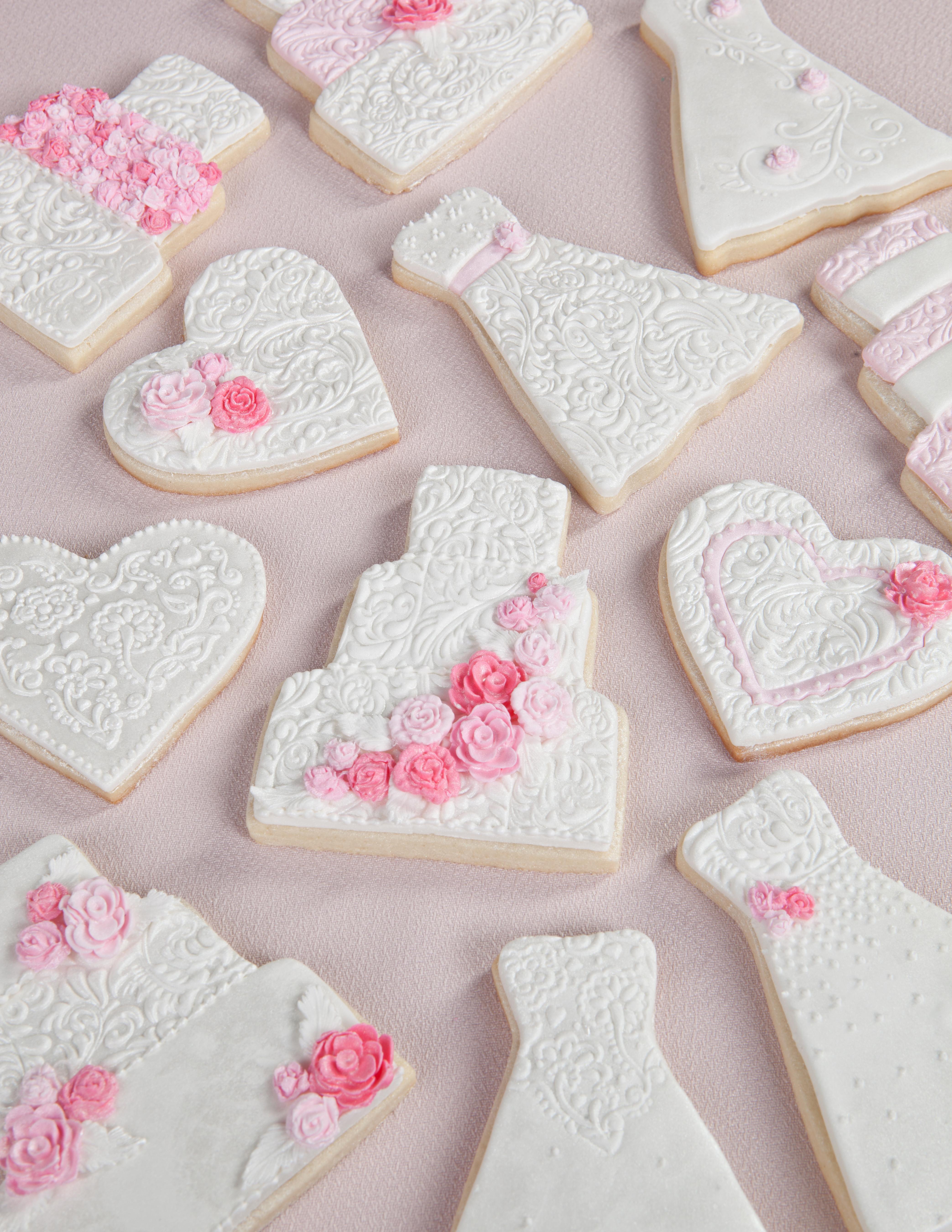 Wedding Sugar Cookies Decorating Ideas  Wedding Bridal Shower Cookies