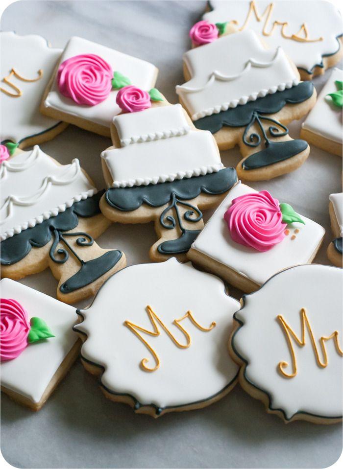 Wedding Sugar Cookies Decorating Ideas  Wedding Cookies at last