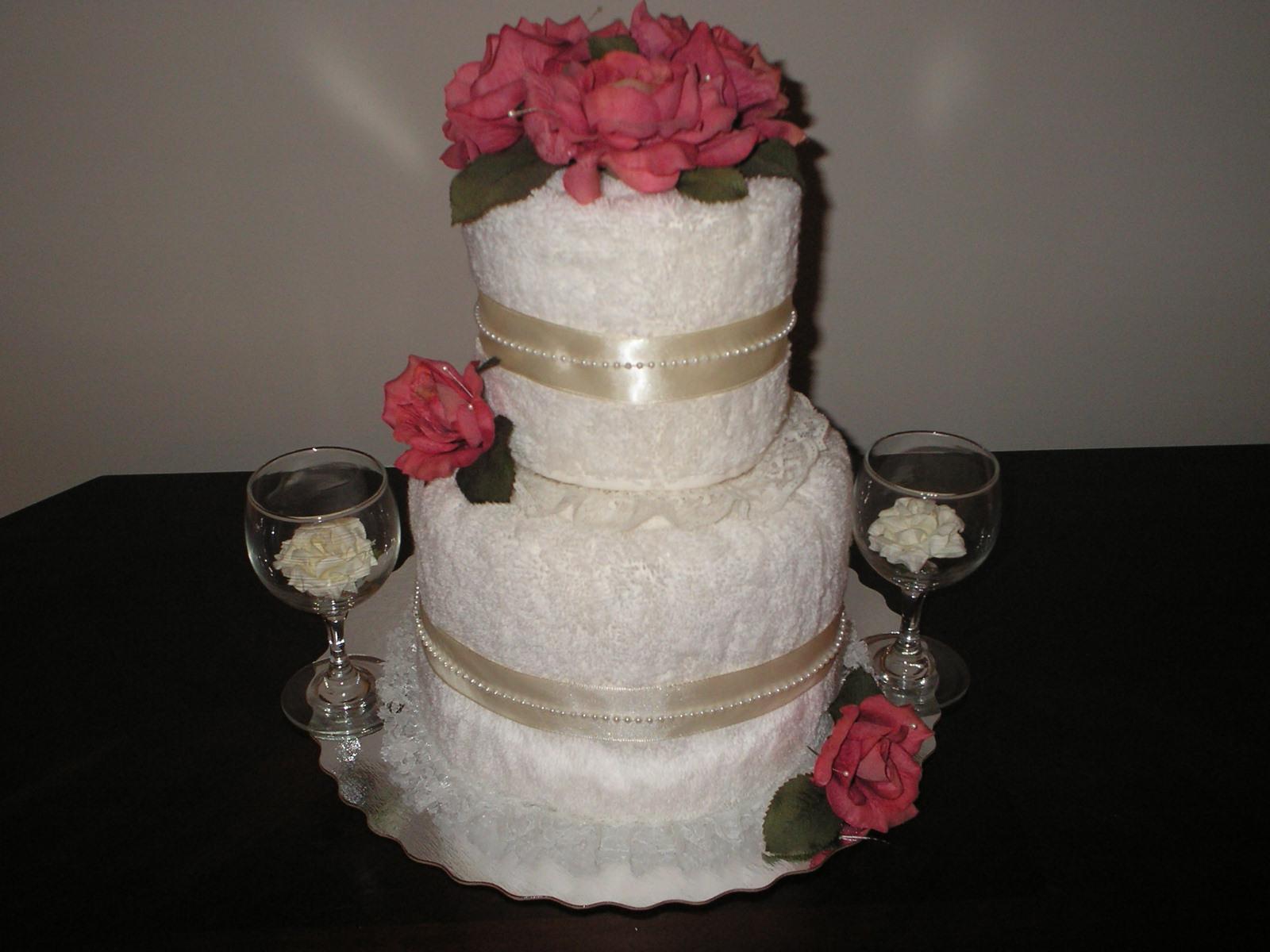 Wedding Towel Cakes Ideas  Wedding towel cakes ideas idea in 2017