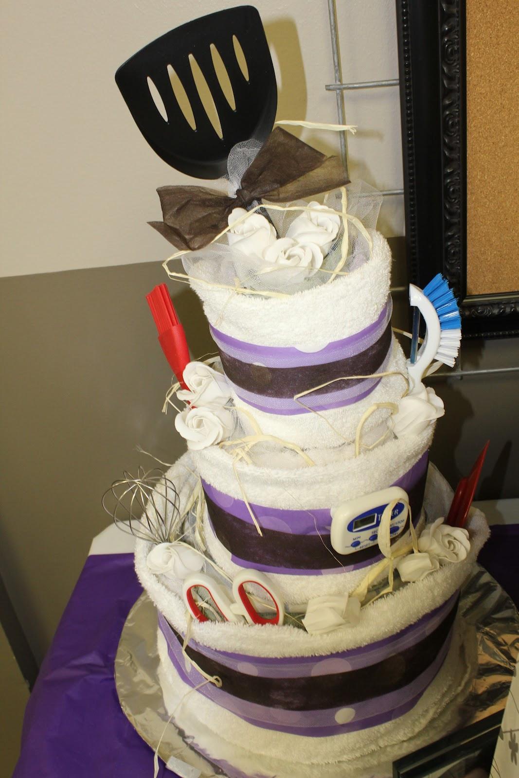Wedding Towel Cakes Ideas  Pin Bridal Shower Towel Cakes – New Gift Ideas Creative