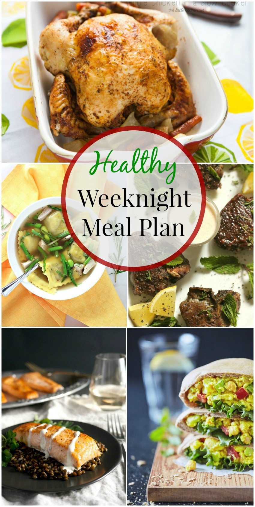 Weeknight Healthy Dinners  Healthy Weeknight Meal Plan 15 simply fresh dinners