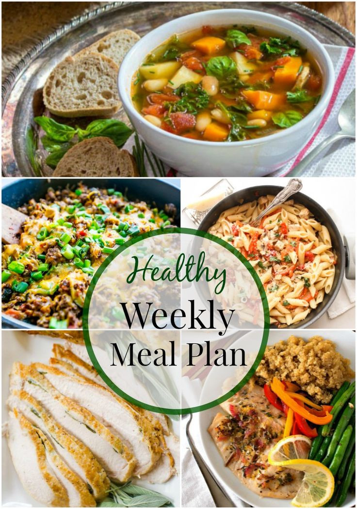 Weeknight Healthy Dinners  Healthy Weeknight Meal Plan 7