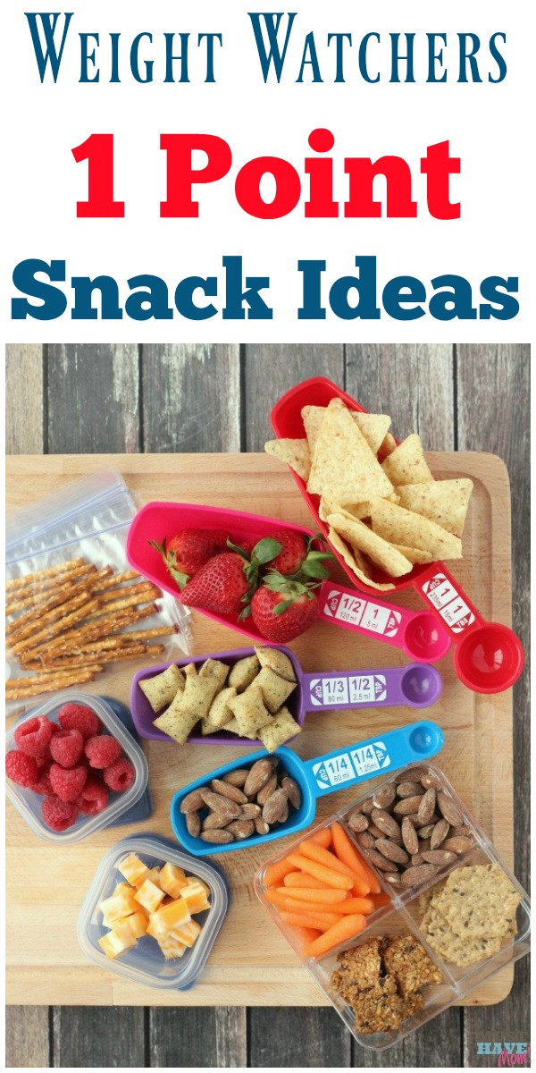 Weight Watchers Healthy Snacks  Weight Watchers 1 Point Snack Ideas Portion Size Tricks