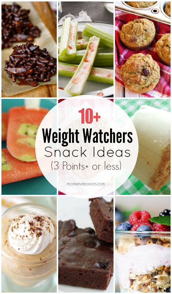 Weight Watchers Healthy Snacks  Homemade Weight Watchers Snack Recipes