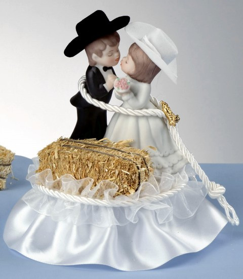 Western Cake Toppers For Wedding Cakes  casual wedding dress western wedding cake topper