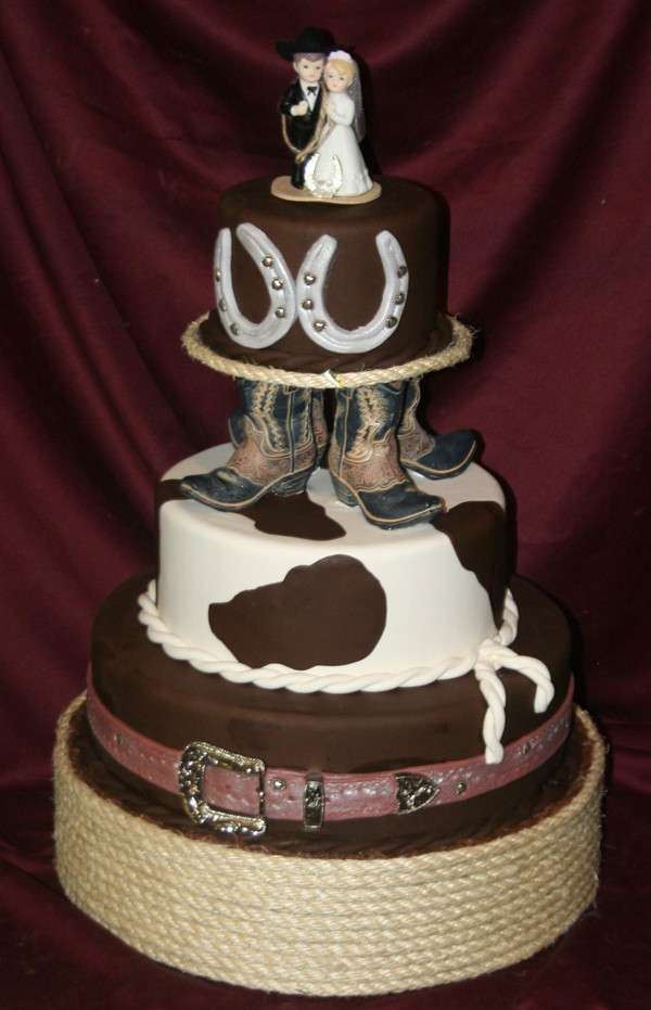 Western Cake Toppers For Wedding Cakes  Ideas of the Western Themed Wedding Cakes