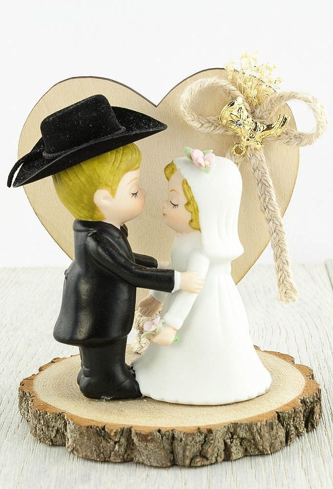 Western Cake Toppers For Wedding Cakes  Western Cowboy Wedding Cake Topper