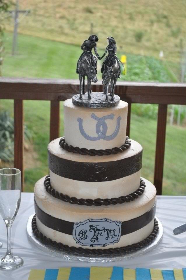 Western Theme Wedding Cakes  Western Theme Wedding Cake Decorating Ideas
