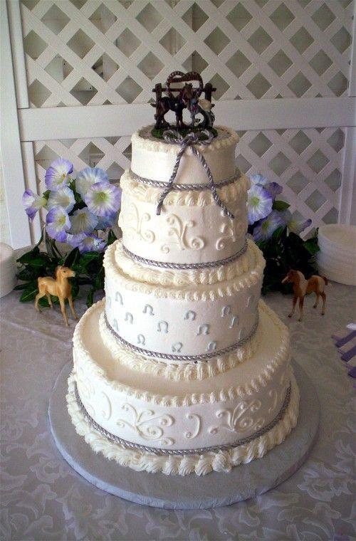 Western Theme Wedding Cakes  Western Cowboy Style Cakes Inspiration Project Wedding