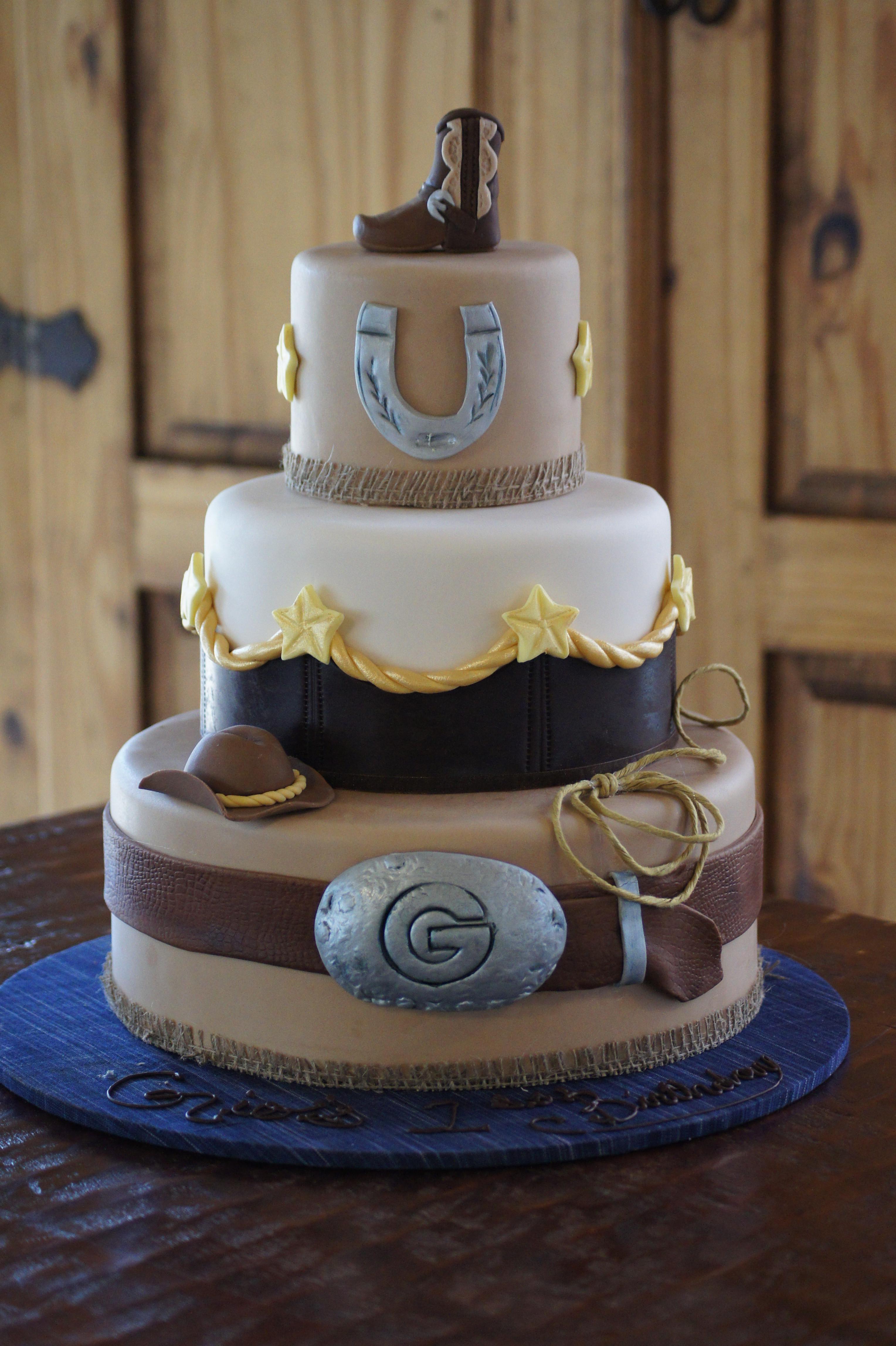 Western Theme Wedding Cakes  Western theme Wedding Cakes