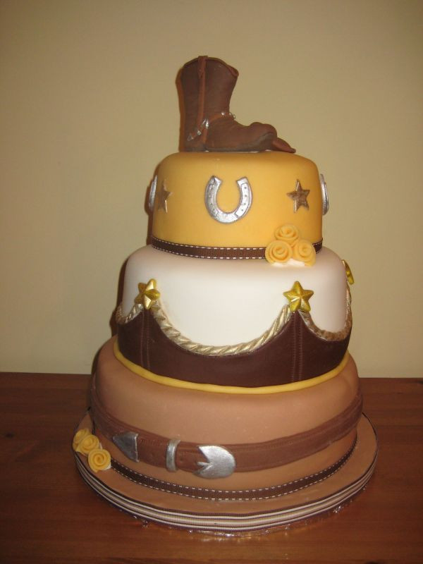 Western Themed Wedding Cakes  Ideas of the Western Themed Wedding Cakes