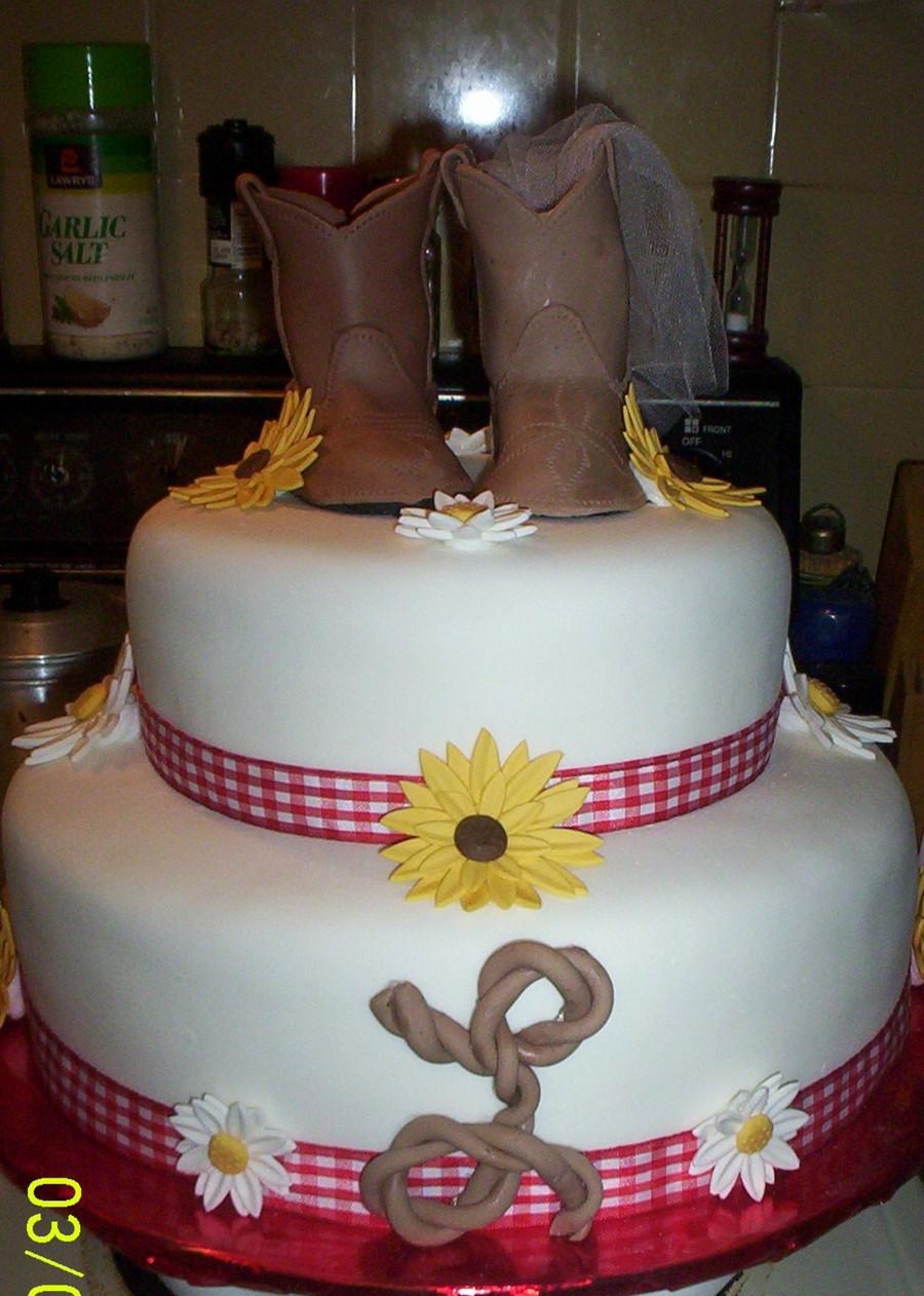 Western Wedding Cakes  Western Wedding Shower CakeCentral