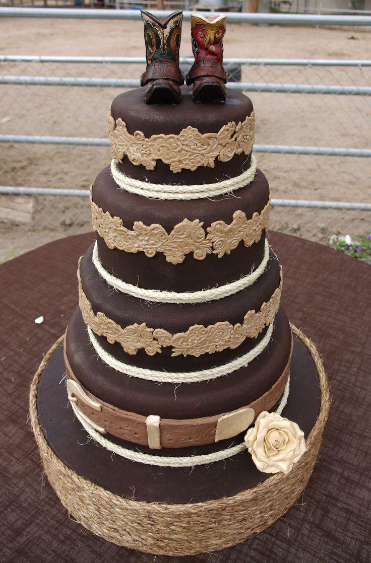 Western Wedding Cakes  1000 images about Wedding Cakes Western on Pinterest