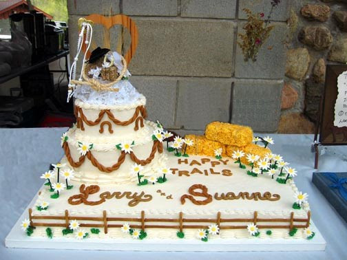 Western Wedding Cakes  Wedding Accessories Ideas
