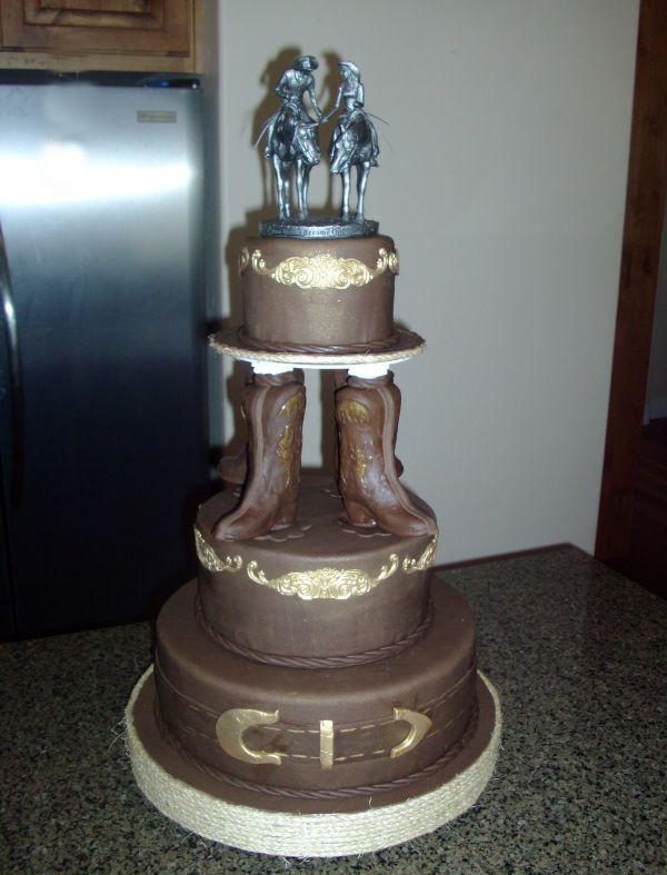 Western Wedding Cakes Ideas  Ideas of the Western Themed Wedding Cakes