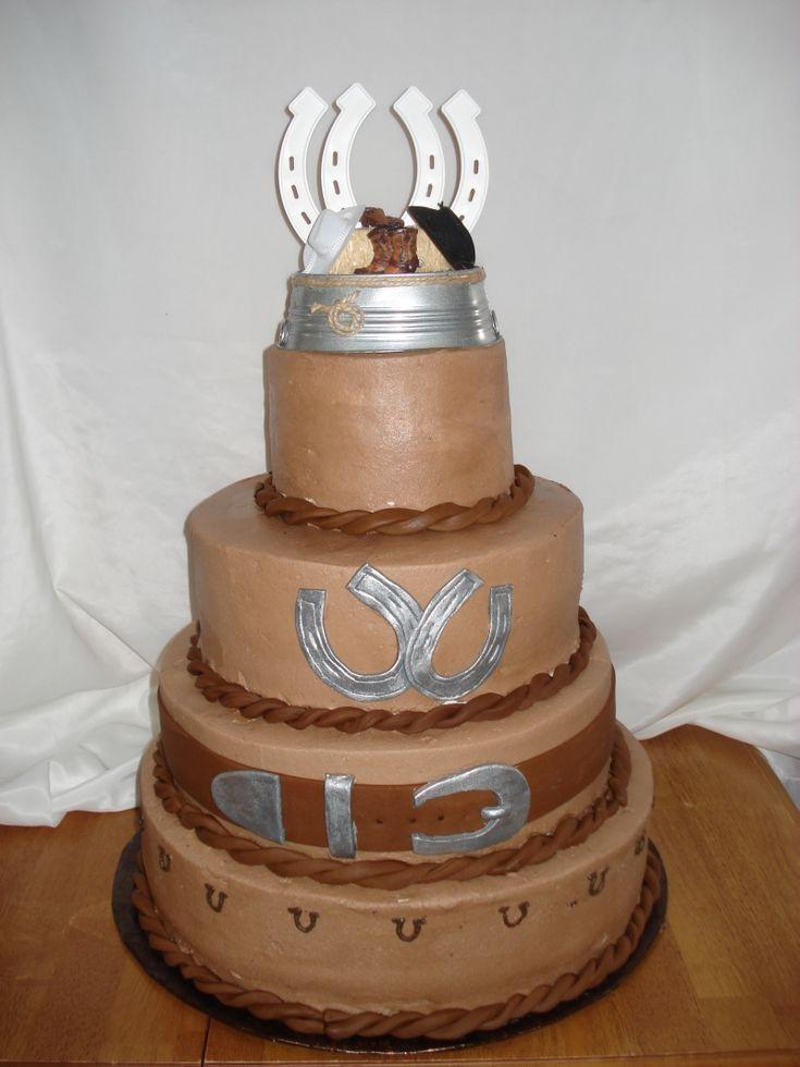 Western Wedding Cakes Ideas  western crafts pinterest