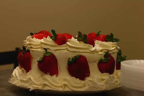 Wheatfields Strawberry Wedding Cake Recipe  The Best Cake Ever