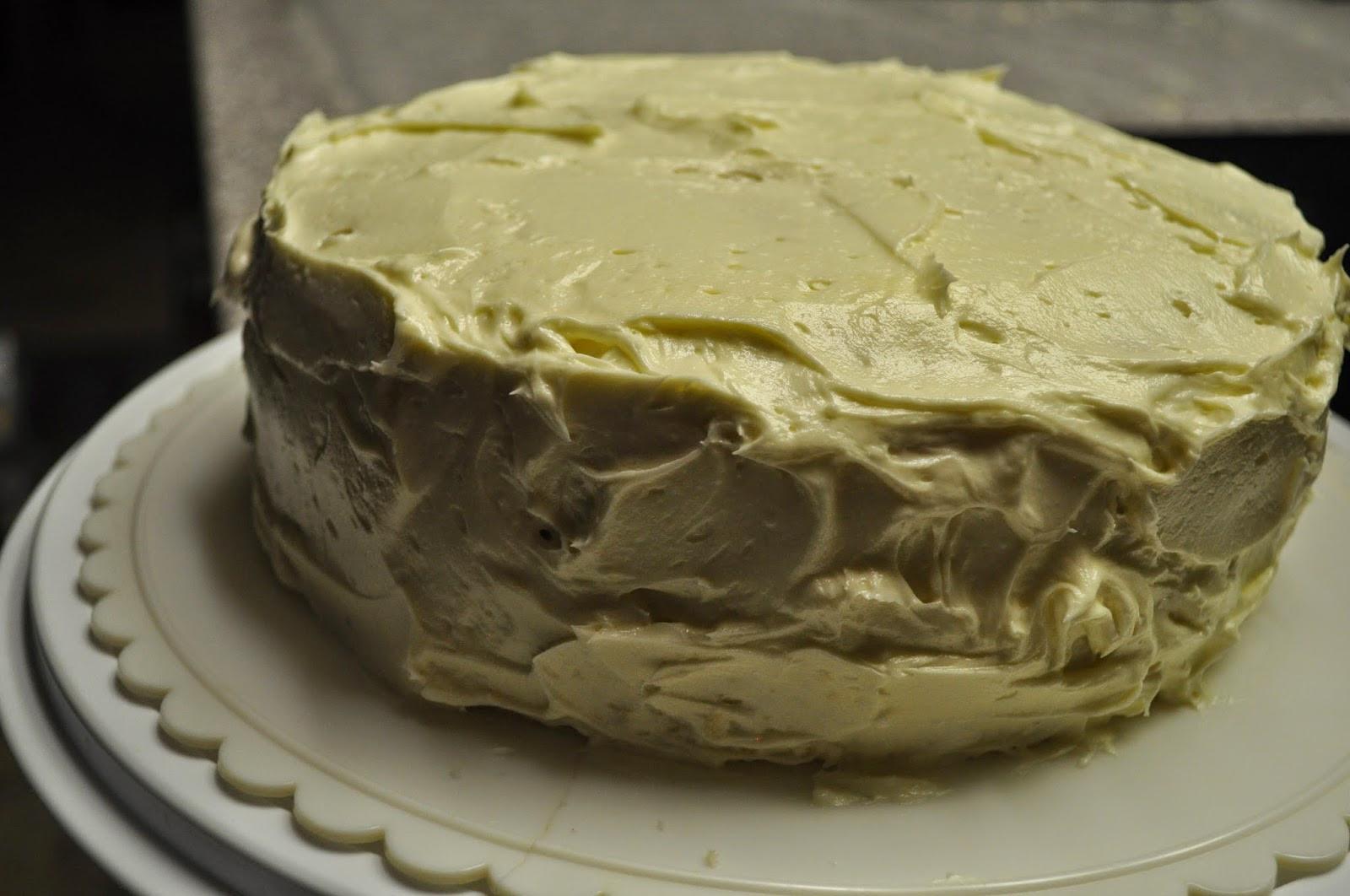 White Almond Wedding Cake Recipe  Beth s Favorite Recipes White Almond Wedding Cake with