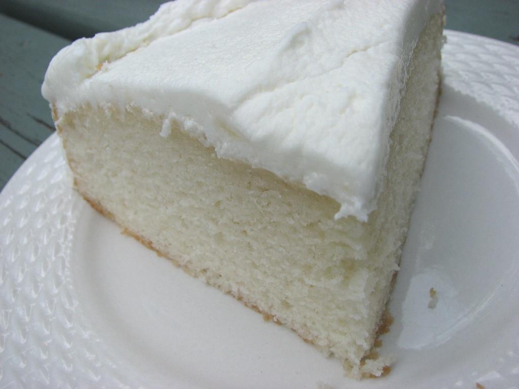 White Almond Wedding Cake Recipe  Heidi Bakes My now favorite White Cake recipe