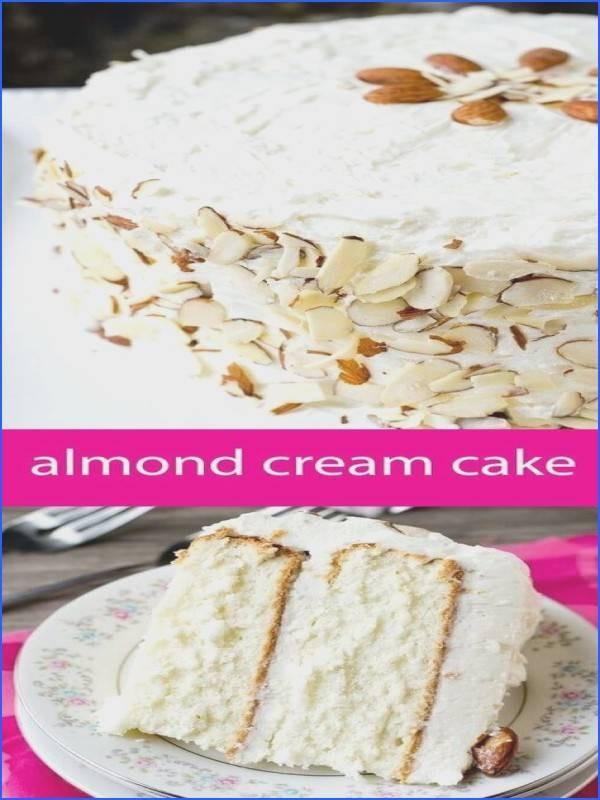 White Almond Wedding Cake Recipe  White Almond Wedding Cake Recipe Beautiful Wedding Cake