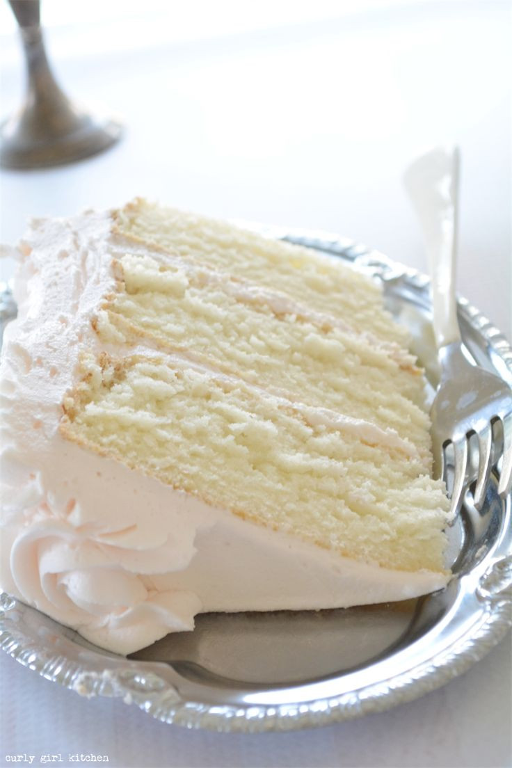 White Almond Wedding Cake Recipe From Scratch  25 best ideas about Moist white cakes on Pinterest