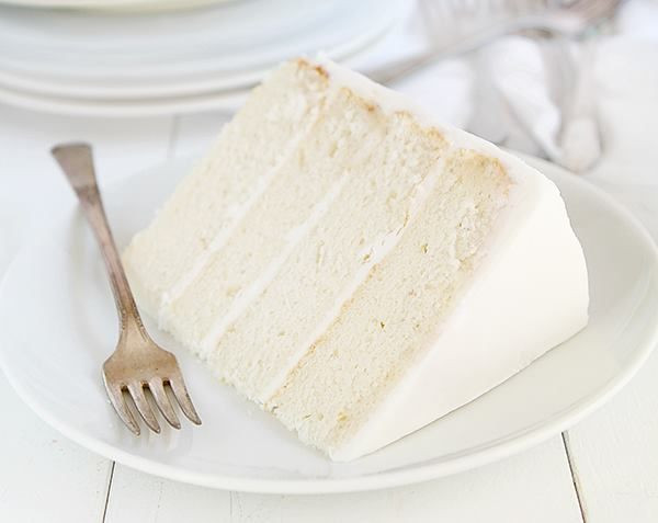 White Almond Wedding Cake Recipe From Scratch  25 Best Ideas about White Cake Recipes on Pinterest