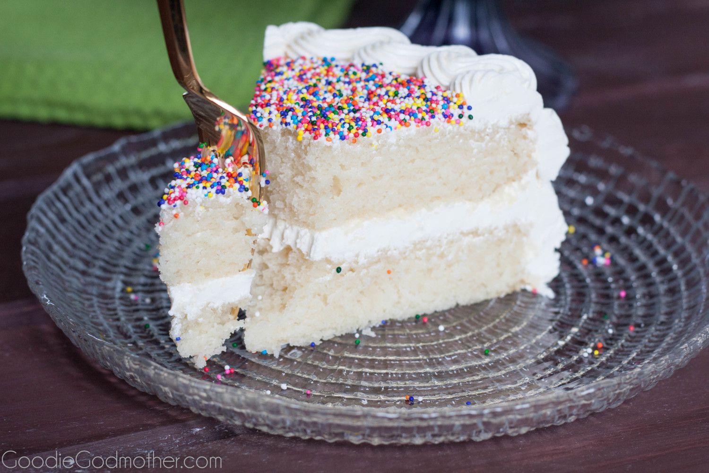 White Almond Wedding Cake Recipe From Scratch  White Cake Recipe FROM SCRATCH Goo Godmother A