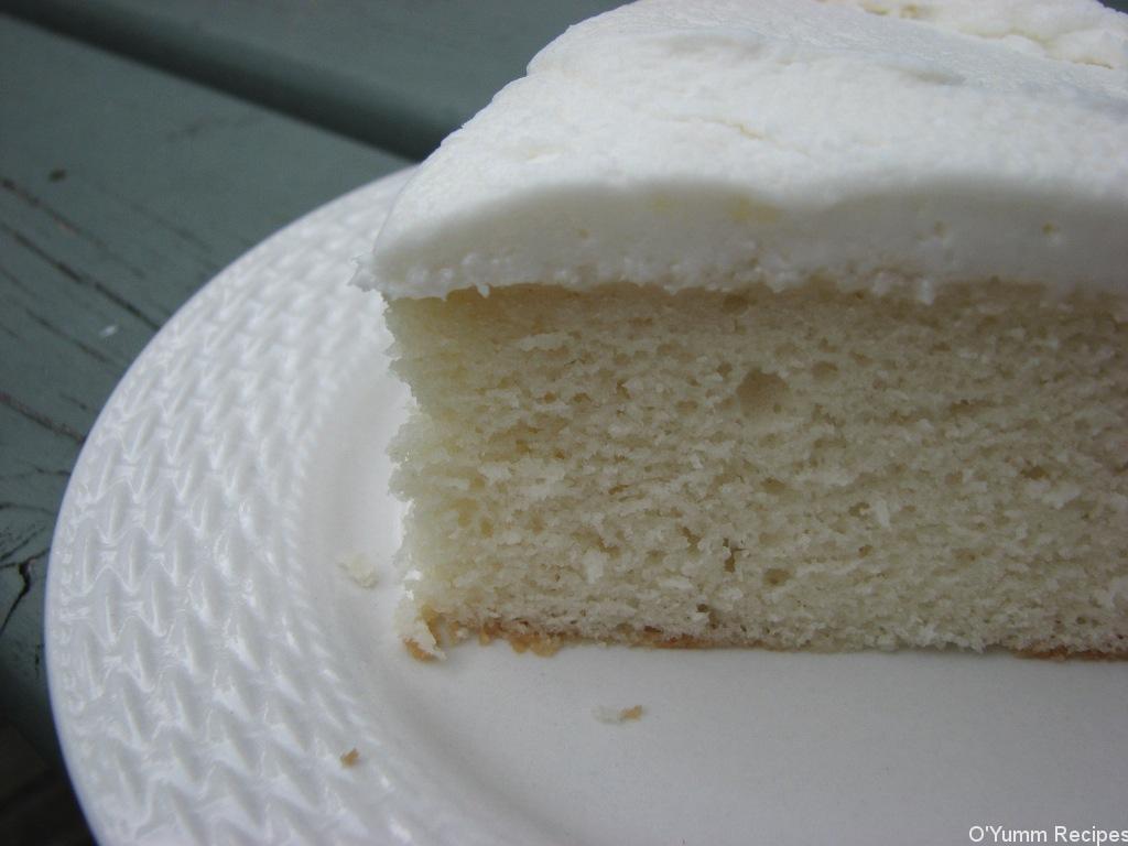 White Almond Wedding Cake Recipe  White Almond Wedding Cake Recipe