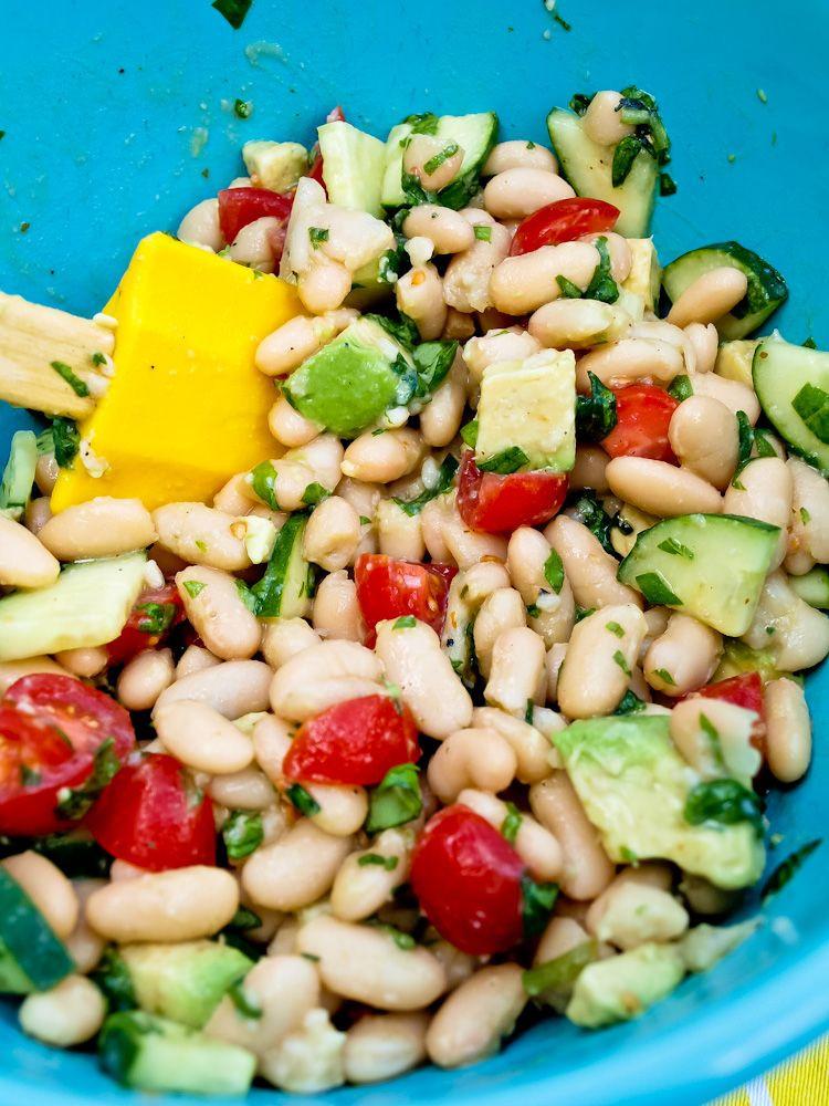 White Bean Recipes Healthy  White Bean Salad A healthy salad recipe that is super