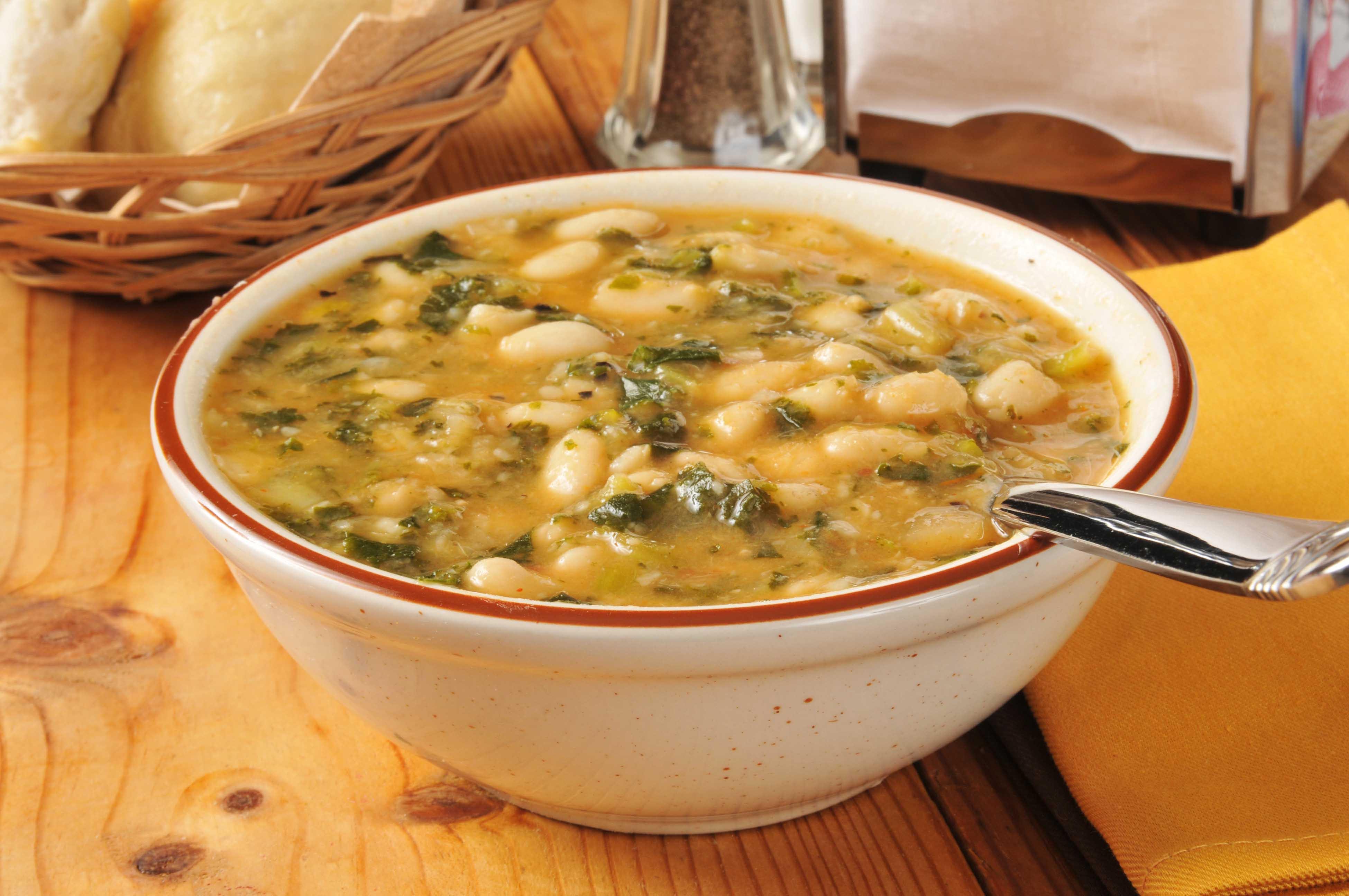 White Bean Recipes Healthy  Healthy Recipe White Bean and Kale Soup