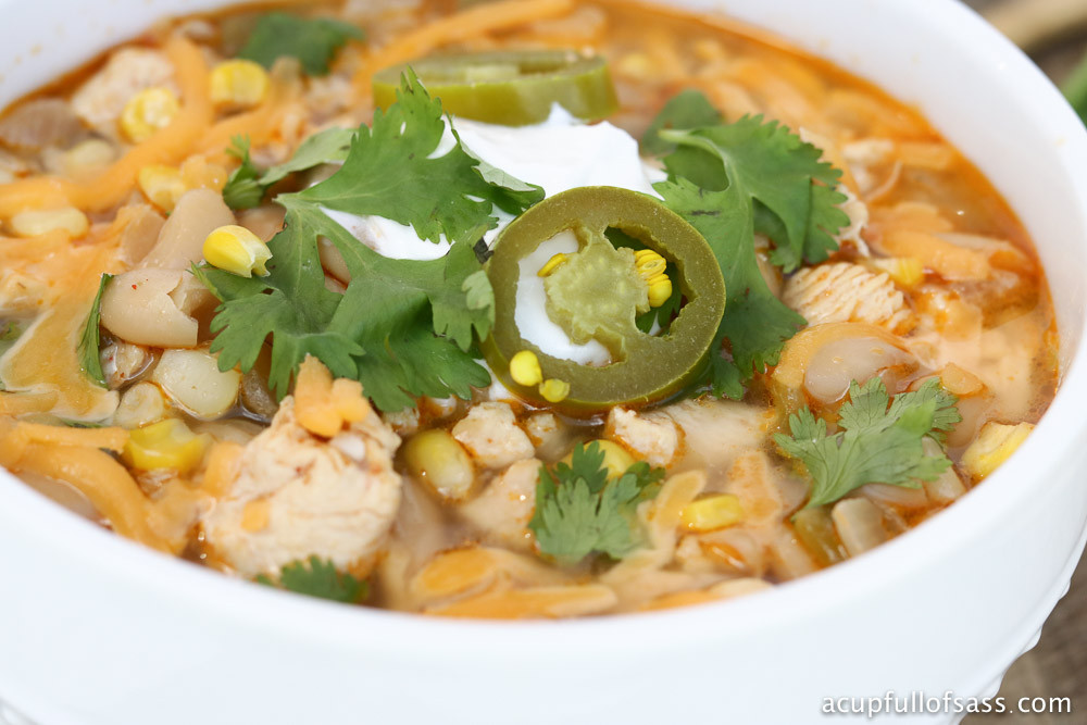 White Chicken Chili Healthy  Healthy White Chicken Chili in Pressure Cooker A Cup