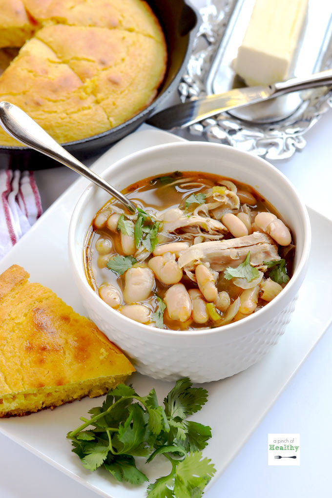 White Chicken Chili Healthy  Instant Pot White Chicken Chili A Pinch of Healthy