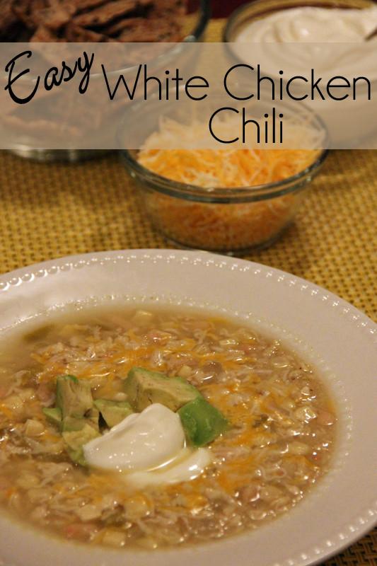 White Chicken Chili Healthy  Cafe Zupas Event Easy White Chicken Chili