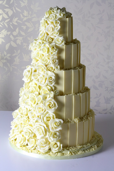 White Chocolate Wedding Cake  Getting to Know Le Papillon Patisserie